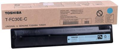 TOSHIBA - Toshiba T-FC30EC Mavi Orjinal Toner / 2050C-2550C-2051C-2551C