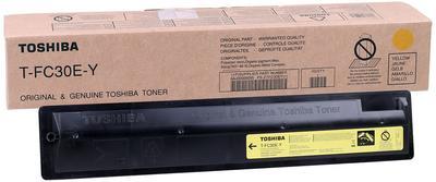 TOSHIBA - Toshiba T-FC30EY Sarı Orjinal Toner / 2050C-2550C-2051C-2551C