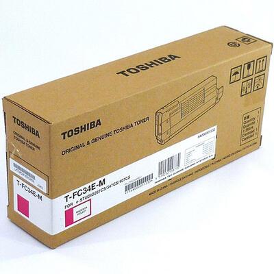 TOSHIBA - Toshiba T-FC34E-M Kırmızı Orjinal Toner E-Studio 287 / e-Studio 347 / e-Studio 407