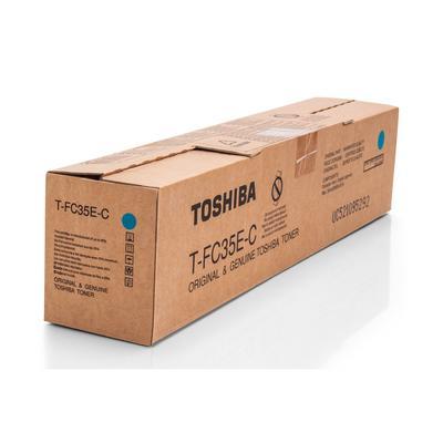 TOSHIBA - Toshiba T-FC35E-C Mavi Orjinal Toner E-Studio 2500c / 3500c / 3510c
