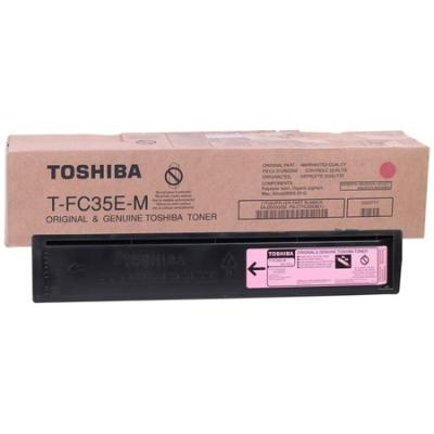 TOSHIBA - Toshiba T-FC35E-M Kırmızı Orjinal Toner E-Studio 2500c / 3500c / 3510c