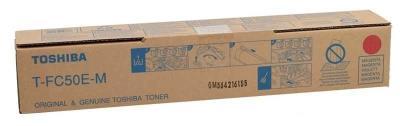 TOSHIBA - Toshiba T-FC50E-M Kırmızı Orjinal Fotokopi Toneri E-Studio 2555c, 3055c, 3555c, 5055c
