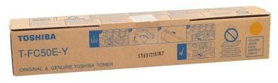 TOSHIBA - Toshiba T-FC50E-Y Sarı Orjinal Fotokopi Toneri E-Studio 2555c, 3055c, 3555c, 5055c