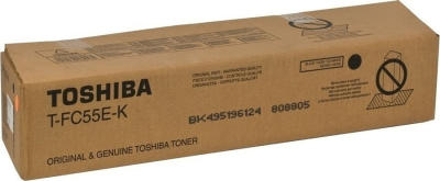 TOSHIBA - TOSHIBA T-FC55D-K SİYAH ORJİNAL TONER e-STUDIO 5520C, e-STUDIO 6520C, e-STUDIO 6530C