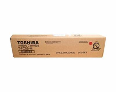 TOSHIBA - TOSHIBA T-FC55D-M KIRMIZI ORJİNAL TONER e-STUDIO 5520C, e-STUDIO 6520C, e-STUDIO 6530C