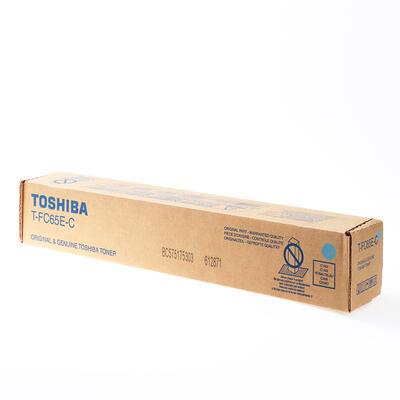 TOSHIBA - Toshiba T-FC65EC Mavi Orjinal Toner - 5540C / 6540C