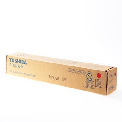 TOSHIBA - Toshiba T-FC65EM Kırmızı Orjinal Toner - 5540C / 6540C