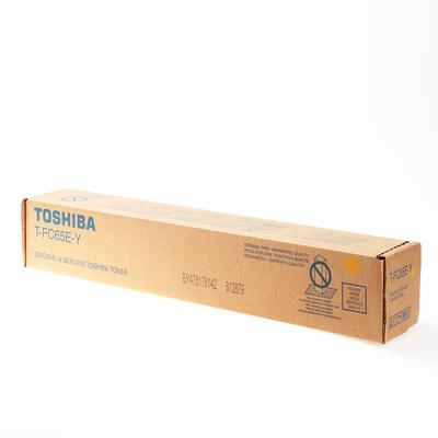 TOSHIBA - Toshiba T-FC65EY Sarı Orjinal Toner - 5540C / 6540C