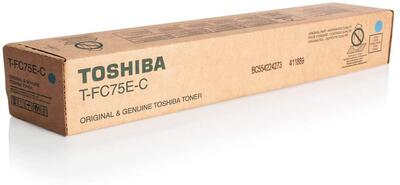 TOSHIBA - Toshiba T-FC75E-C Mavi Orjinal Toner - e-Studio 5560C / 6560C