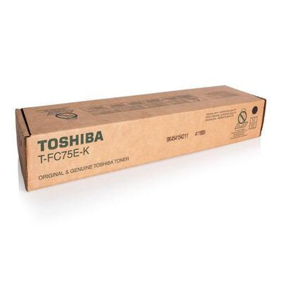TOSHIBA - Toshiba T-FC75E-K Siyah Orjinal Toner - e-Studio 5560C / 6560C