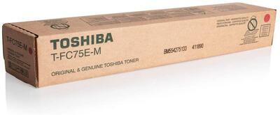TOSHIBA - Toshiba T-FC75E-M Kırmızı Orjinal Toner - e-Studio 5560C / 6560C