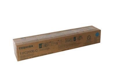 TOSHIBA - Toshiba T-FC200E-C Mavi Orjinal Toner - 2000AC / 2500AC