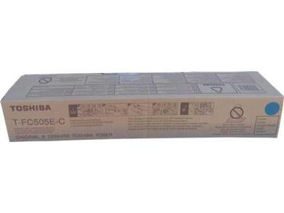 TOSHIBA - Toshiba T-FC505E-C Mavi Orjinal Toner - E-Studio 4505AC / 2505AC