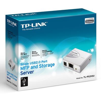 TP-Link - TP-Link TL-PS310U Single USB2.0 Port MFP ve Storage Server