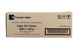 Triumph Adler - Triumph Adler 260Ci Sarı Orjinal Toner (652611116)