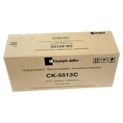 Triumph Adler - Triumph Adler CK-5513C Mavi Orjinal Toner / 355ci, 356ci (1T02VMCTA0)