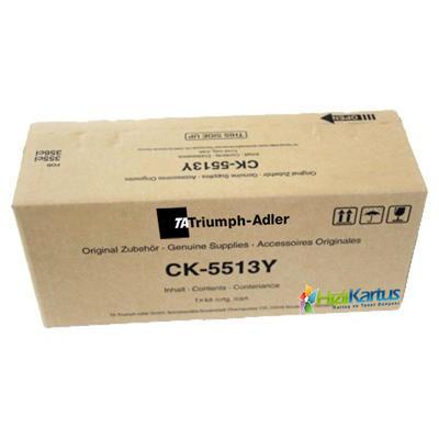 Triumph Adler - Triumph Adler CK-5513Y Sarı Orjinal Toner / 355ci, 356ci (1T02VMATA0)