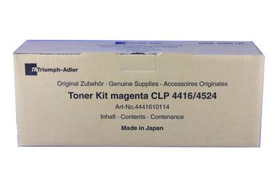Triumph Adler - Triumph Adler CLP-4416 Kırmızı Orjinal Toner / Utax CLP-3416 (4441610114)