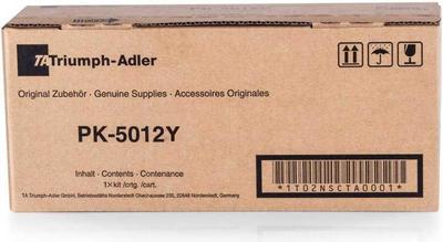 Triumph Adler - Triumph Adler PK-5012Y Sarı Orjinal Toner P-C3560MFP, P-C3565MFP (1T02NSATA0)