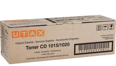 UTAX - Utax CD-1015 / CD-1020 612010010 Orjinal Fotokopi Toneri