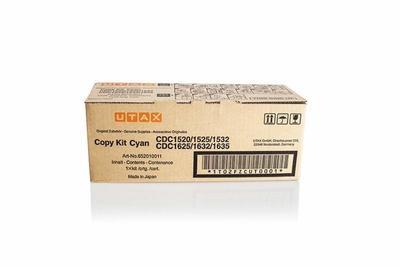 UTAX - Utax CDC-1520, CDC-1525 Mavi Orjinal Toner (652010011)
