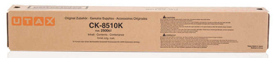 UTAX - UTAX CK-8510K 2500ci SİYAH ORJİNAL FOTOKOPİ TONERİ 18,000 Sayfa