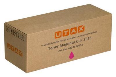 UTAX - Utax CLP-3316 Kırmızı Orjinal Toner (4431610014)