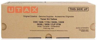 UTAX - UTAX CLP-3726, CDC-1626 / 1726 / 5526L/ 5626 SARI ORJİNAL TONER Triumph Adler DCC-2626 / 2726