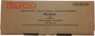 UTAX - Utax PK-3010 Siyah Orjinal Toner - 4531DN