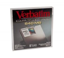 SONY - VERBATIM 91250, 3.5 640Mb Kapasiteli Manyetik Optik Disk
