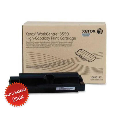 XEROX - Xerox 106R01531 Yüksek Kapasite Siyah Orjinal Toner (C)