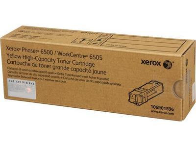 XEROX - Xerox 106R01596 6500 / 6505 Sarı Orjinal Toner Yüksek Kapasite
