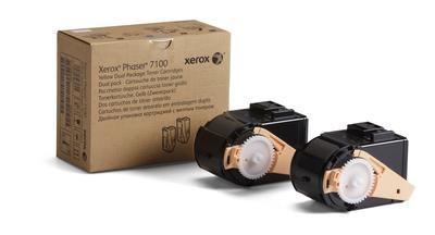 XEROX - Xerox 106R02604 2'li Paket Phaser 7100 Sarı Orjinal Toner Metered