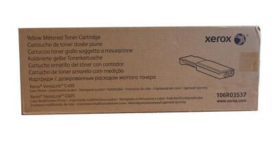 XEROX - Xerox 106R03537 Sarı Orjinal Toner - Versalink C400DN / C405DN (Metered)