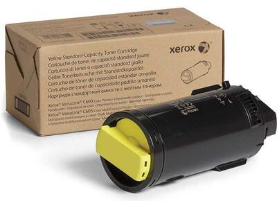 XEROX - Xerox 106R039010 Sarı Orjinal Toner Standart Kapasite - VersaLink C600DN / C605S
