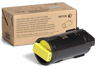 XEROX - Xerox 106R03926 Sarı Orjinal Toner Ekstra Yüksek Kapasite - VersaLink C600DN / C605S