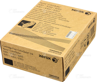 XEROX - Xerox 108R00836 Colorqube 9201 Siyah Orjinal Toner Metered