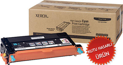 XEROX - Xerox 113R00723 Yüksek Kapasite Mavi Orjinal Toner (C)