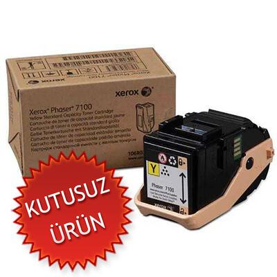 XEROX - Xerox 7100 106R02608 Sarı Orjinal Toner (U)