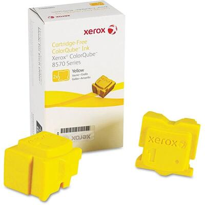 XEROX - Xerox 108R00938 Sarı Katı Mürekkep Toner - ColorQube 8570 (2li Paket)