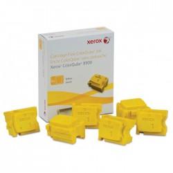 XEROX - XEROX ColorQube 8900 108R01028 SARI KATI MÜREKKEP TONER 6lı Paket