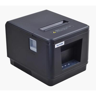 XPRINTER - Xprinter XP-Q600 Termal Fiş Yazıcı + USB + Ethernet